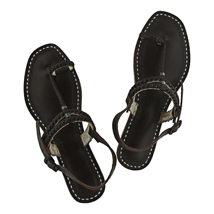 Indian ethnic leather sandal