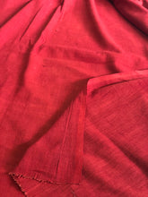 Madder Handwoven Kurta Fabric (3.30 meters)