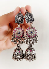 Vintage Silver Earrings - 3