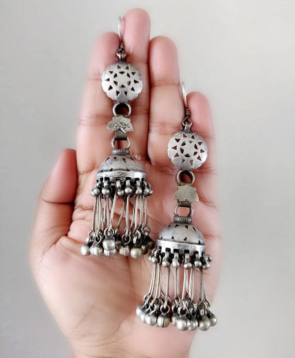 Shoulder Duster Tribal Jhumkas - 1