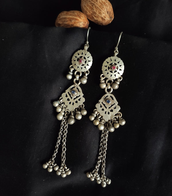 Vintage Shoulder Duster Danglers - 2
