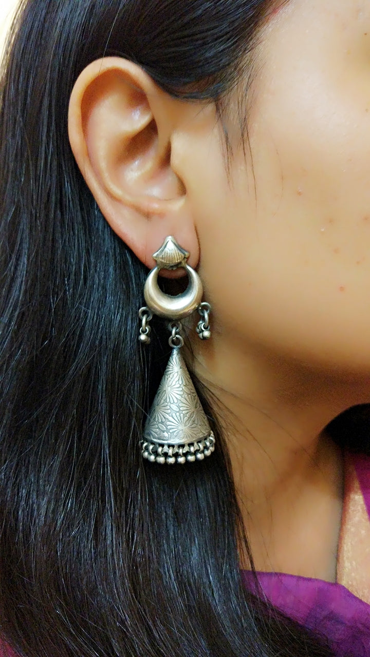 Statement Conical Jhumkas