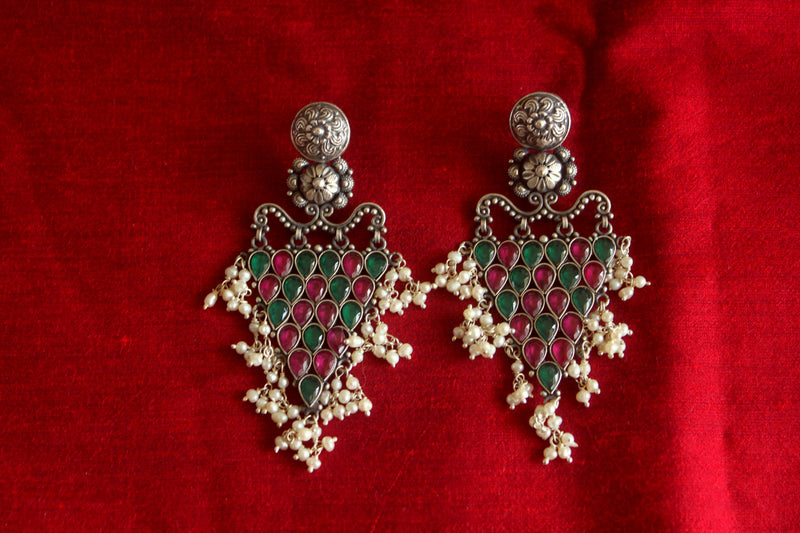 Temple Chandelier Earrings - Long