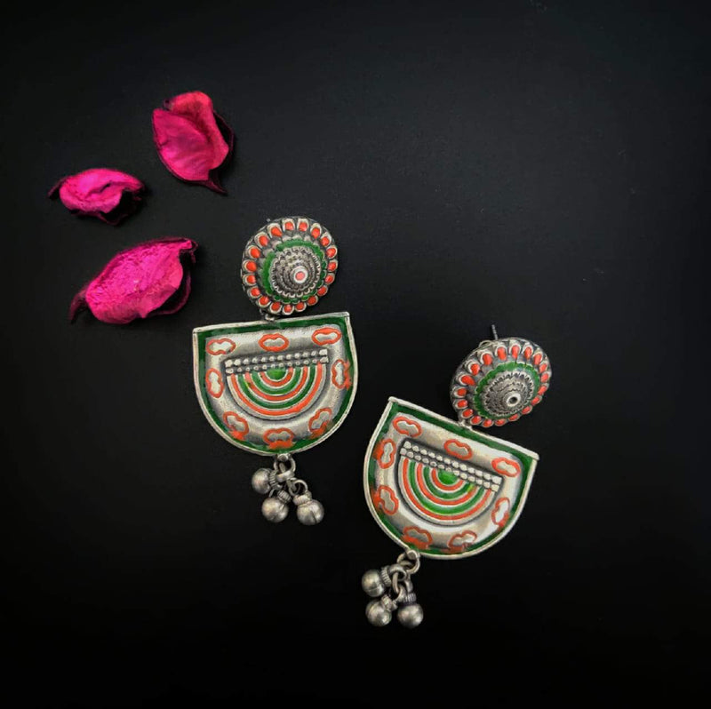 Handpainted Earrings - 6
