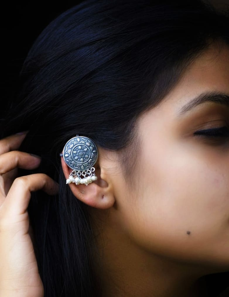 Carved Ear Cuffs