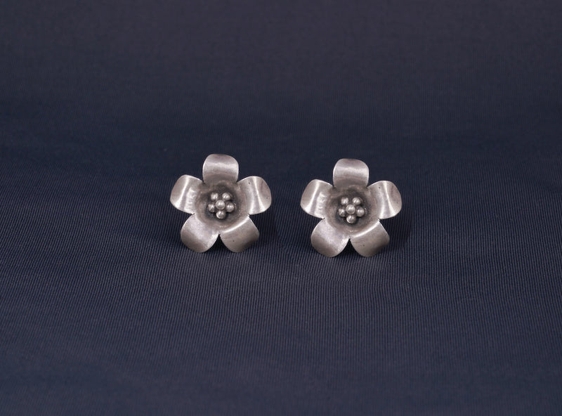 Moh Mini Flower Statement Earrings
