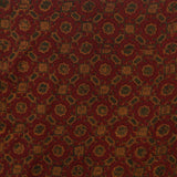 Red Ajrakh Mul Cotton Natural Dyed Fabric