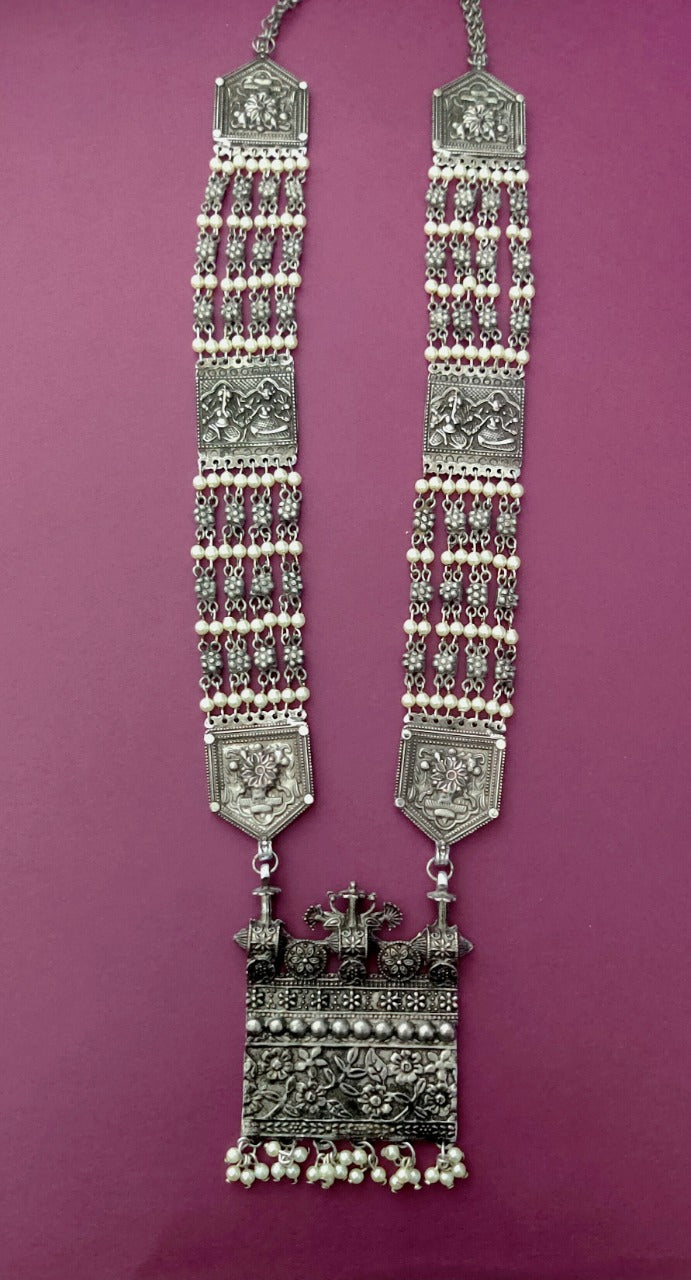Jaiselmeri Haar with Pearls