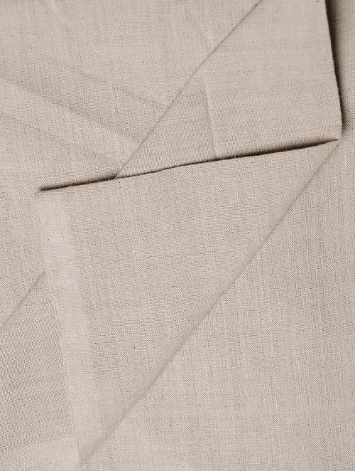 Light Grey Handwoven Cotton Fabric