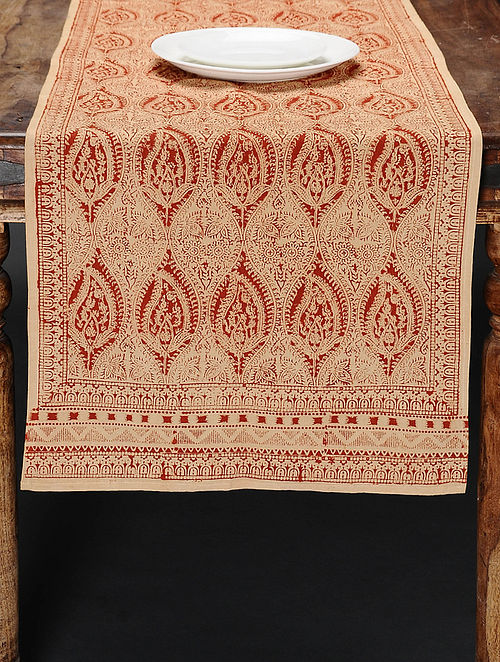 Kalamkari Table Runner