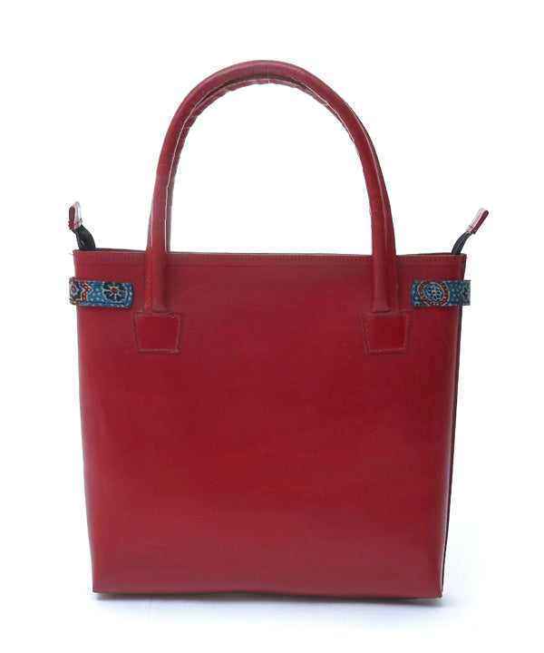 Madder Leather Bag
