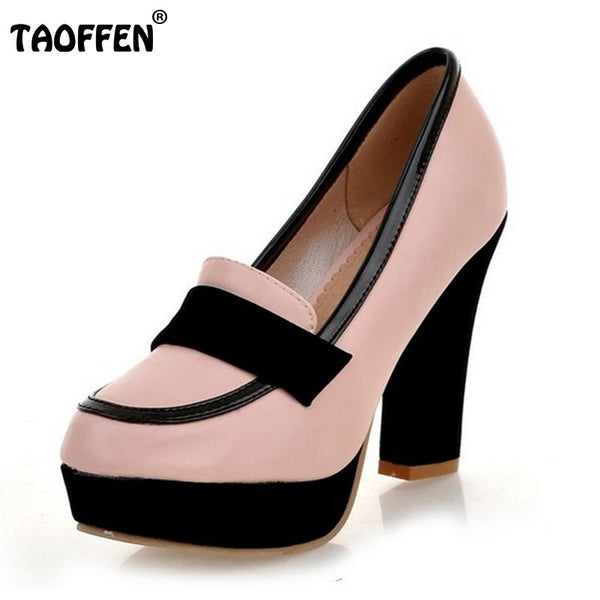 ladies high heel shoes women sexy dress footwear fashion lady female brand pumps P13025 hot sale EUR size 34-43