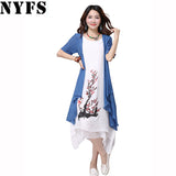 Womens Stylish Cool 2 Piece Casual Dress