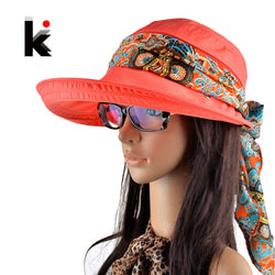 Womens Trendy Beach Summer Visor Hat