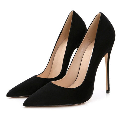 e2526998910 Stilettos Womens Shoes High Heels 12CM High Heels Purple Shoes Pumps Women  Heels Sexy Pointed Toe ...