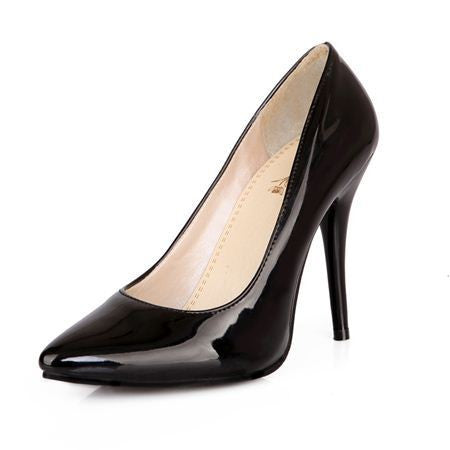 EGONERY shoes 2017 spring summer womens shoes patent leather high heels platform nude pumps fashion black red woman ladies shoes