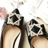 Sweet Ladies Shoes Soft Bottom Comfortable Women Flats Shoes Rhinestone Female Flats Spring Autumn Shoes Plus size 33 - 43