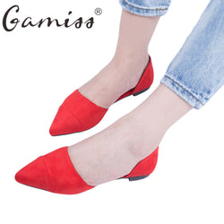 Gamiss Women Summer Shoes  Women Flats Shoes Pointed Toe Footwear Casual Sapatos Femininos Ballet Ballerina Ballet Flats Shoes