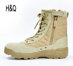 Mens Sporty Army Tactical Desert Outdoor Boots