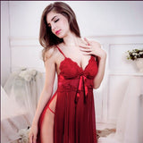 Sexy Underwear Women Sex Product Erotic Lingerie Porn Babydoll/Baby Doll Sleepwear+G-string Set Red/Black