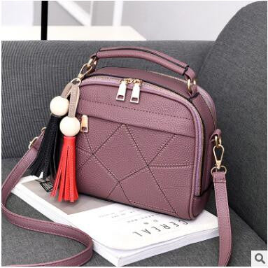 1327e3f86e4f Womens Beautiful Small Leather Shoulder Handbag