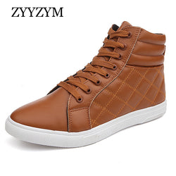 Mens Urban Lace Up Casual High Top Sneakers