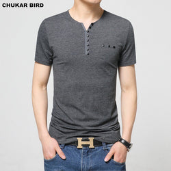 Mens Cool Slim Fit T-Shirt Fashion Tee