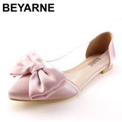 BEYARNE arrival vintage rivet women single shoes pointed toe spring summer ballet  flats flat fashion shoes 545b3e5a4672