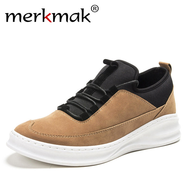 Mens Stylish High Top Casual Sneakers
