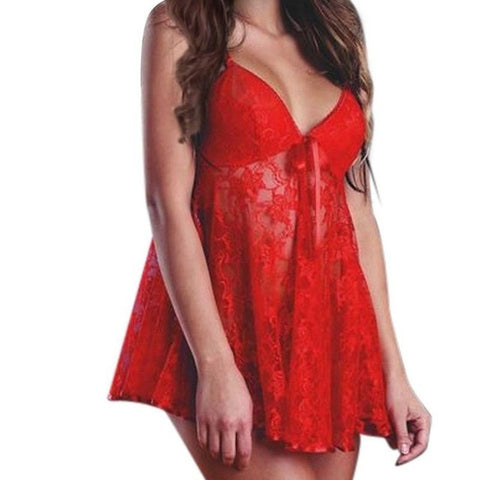 Sexy Bodydoll Women Costume lingerie Ladies Silky Sexy Pajamas Nightdress Delicate Touch Adult Games Sling Sleepwear