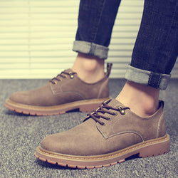Mens Cool Casual Simple Work Boots