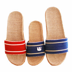 Mens Urban Linen Basic House Slippers