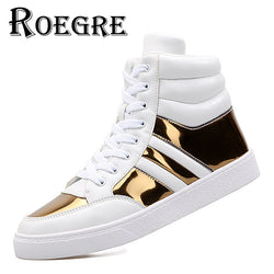 Mens Trendy Fashionable Casual Lace Up Sneakers