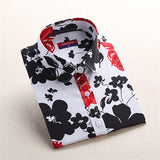 Womens Cute Pattern Character Blouse Cotton Long Sleeve Top Shirt