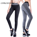 CHRLEISURE S-XL 4 Colors Women's Legging Fashion Workout Polyester Bodybuilding High Waist Clothing Elastic Leggings 9e 6a