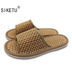 Mens Basic Bamboo Leisure House Slippers