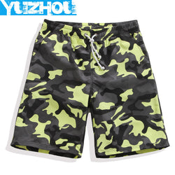 Yuzhou Boardshrots men quick board Camouflage military surf beach camo swimming trunks jogger running shorts swimsuits sweat