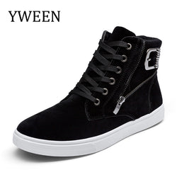 Mens Cool Trendy High Top Casual Sneakers