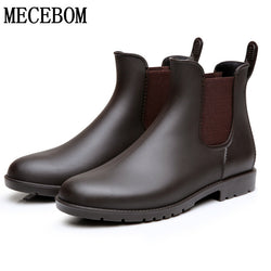 Mens Trendy Classic Chelsea Casual Boots