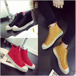 Mens Cool Casual High Top Ankle Sneakers