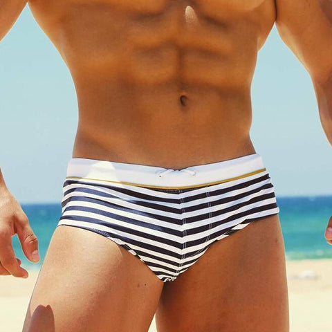 Men and women striper bikini
