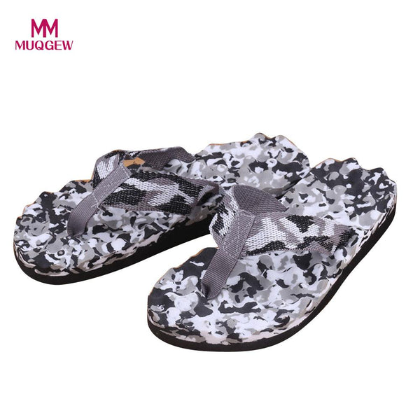 Men Summer Camouflage Flip Flops Shoes Fashion Beach Sandals Slipper Sandals Slipper indoor & outdoor High Quality Men Shoes