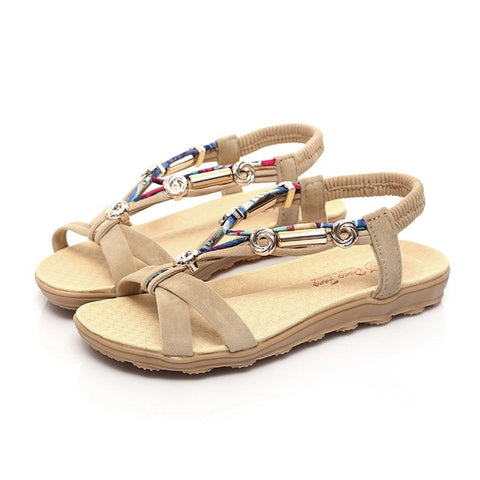 7d34bca1becb1e Women Sandals Women Flats Sandals Fashion Flip Flops Shoes Comfortable  Women Shoes Casual Ladies Sandals