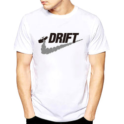 Casual t shirt men car drift Print tops funny Short sleeve t-shirt men tee shirt mens t shirts fashion 2017 s-xxxl