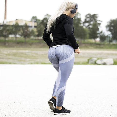 3c322524d7754 Fashion Customized Sporting Legging Women Skinny Elastic Fitness Leggings  Pant Sexy Push Workout Sporting Trousers 3D