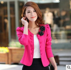 LET-SETTING new fashion spring summer  Slim temperament  large size small suit