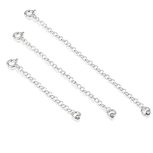 3 Pcs 925 Sterling Silver 2