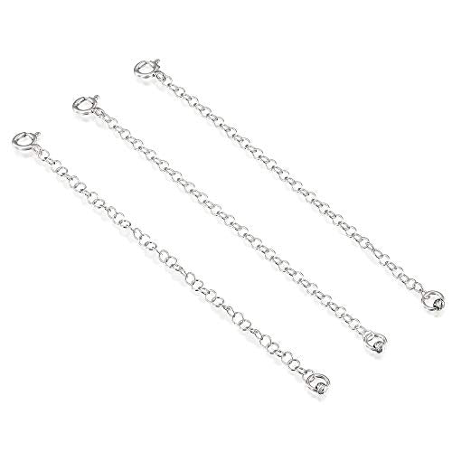 3 Pcs 925 Sterling Silver 4