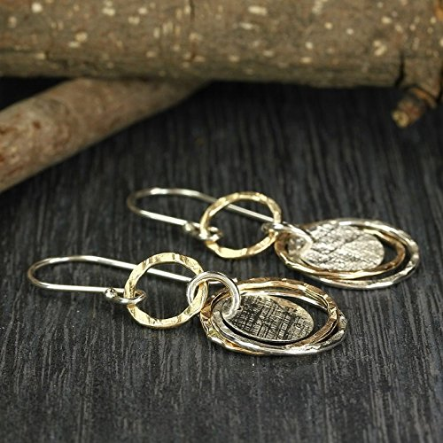 multi circles earrings