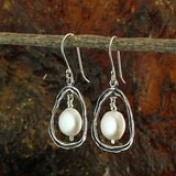3 Pcs Teardrop Shaped 925 Sterling Silver Elements with Loops for Your DIY Earrings or Necklace Creations